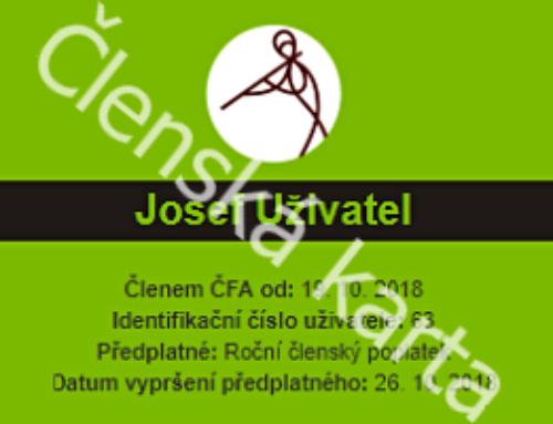 Členství v České flétnové asociaci, z.s.