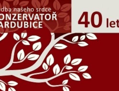 Konzervatoř Pardubice slaví čtyřicáté výročí  založení