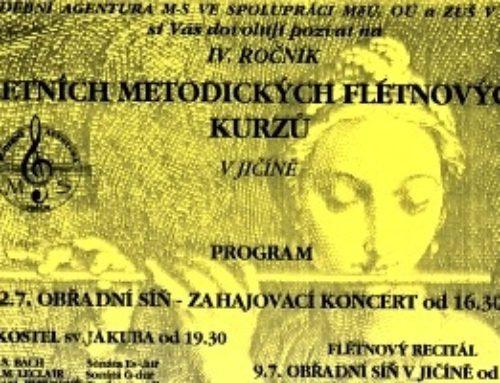 Letní flétny ve vzpomínkách člena České filharmonie Petra Veverky
