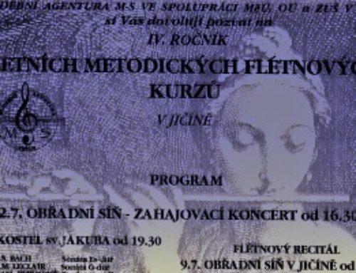 Letní flétny ve vzpomínkách prof. Františka Malotína
