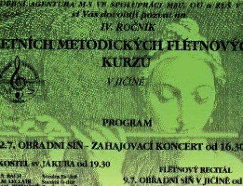 Letní flétny ve vzpomínkách Jaromíra Soukupa