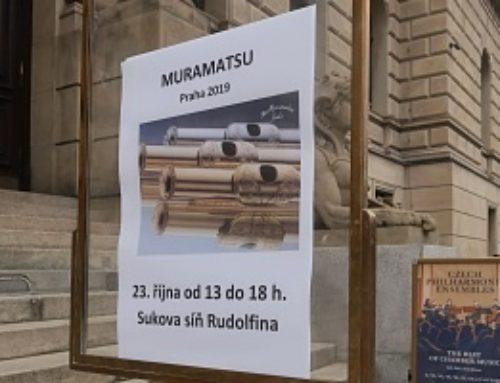 Muramatsu Praha 2019, výstava v Rudolfinu